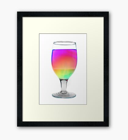 Colorful Cocktail Framed Print