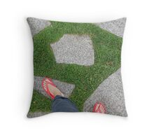 European Summer Holiday Throw Pillow