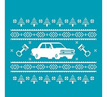 Datsun 510 Ugly Sweater Photographic Print