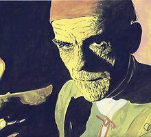 "Boris Karloff "" The Mummy"" by Adzee"
