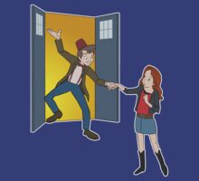 'Straight On 'Til Morning' (Peter Pan / Doctor Who) by James Hance