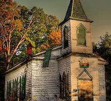 Abandoned Church (Civil War Era) by Brian Cole