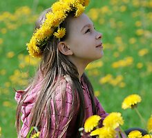 Young girl in summer day. by fotorobs