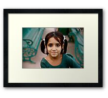 Little Indian Elf Framed Print