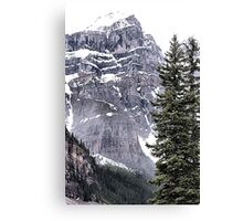 Mount Perren - One of The Ten Peaks - Moraine Lake  Alberta Canvas Print