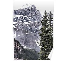 Mount Perren - One of The Ten Peaks - Moraine Lake  Alberta Poster