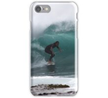 Long Reef Surfer iPhone Case/Skin