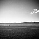 Aegean Sea (black and white) by alecska