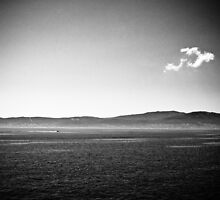 Aegean Sea (black and white) by alecska