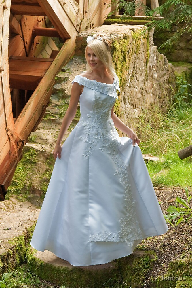 Bride on the mill by fotorobs