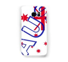 AUS Flag Samsung Galaxy Case/Skin
