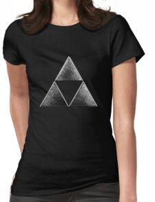 Force of three v 2 Womens Fitted T-Shirt