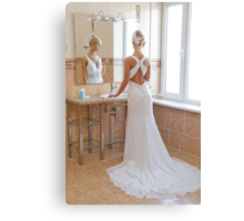 Reflection In Mirror Canvas Print