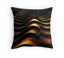 Rooftop Ripples Throw Pillow