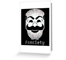 Fsociety Greeting Card