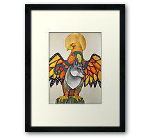 Karen's Totem Framed Print