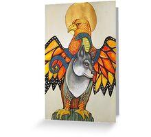 Karen's Totem Greeting Card