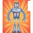 Retro Robot by tmhoran
