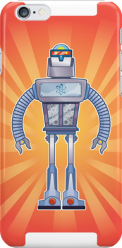 Retro Robot by tmhoran