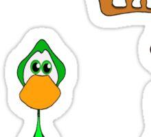 Duck , Duck , Moose  Sticker
