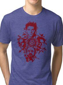 Supernatural Portraits in blood Tri-blend T-Shirt