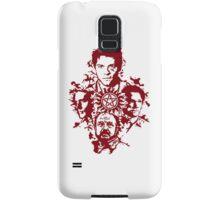 Supernatural Portraits in blood Samsung Galaxy Case/Skin