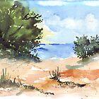 Beach at Mvoti by Maree Clarkson