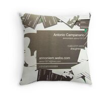 Networking Me Throw Pillow