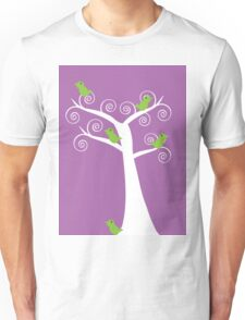 5 Birds in a Tree T-Shirt