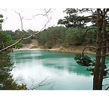 Blue Pool Photographic Print