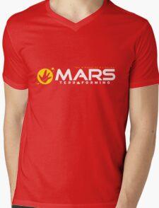 Mars Terraforming (Total Recall) Mens V-Neck T-Shirt