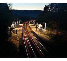 Night Trains Photographic Print