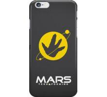 Mars Terraforming (Total Recall) iPhone Case/Skin