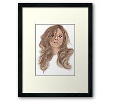 Original Lady Framed Print