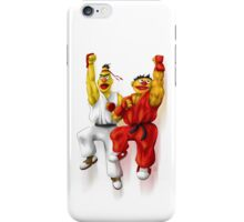 Sesame Street Fighter: Beryu & Kernie iPhone Case/Skin
