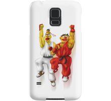 Sesame Street Fighter: Beryu & Kernie Samsung Galaxy Case/Skin