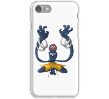 Sesame Street Fighter: Grhalsim iPhone Case/Skin