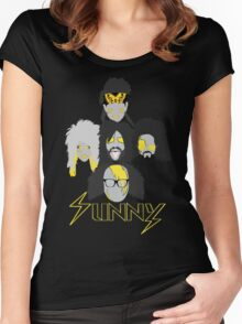Sunny Gang Women's Fitted Scoop T-Shirt