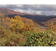 Beautiful Mountain Colors Photographic Print