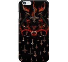 LUCIFER CRUCIFIXATION iPhone Case/Skin