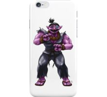 Sesame Street Fighter: Acountma iPhone Case/Skin