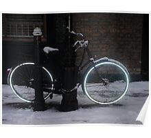 Tron Bike - Spitalfields, East London Poster