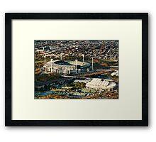 The MCG Framed Print