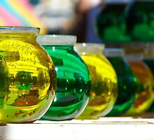 Colored Bowls by LadyEloise