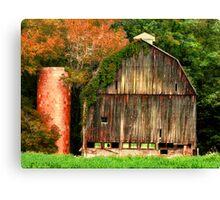 Hocking Hills old barn  Canvas Print
