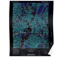 USGS Topo Map District of Columbia DC Washington East 255893 1965 24000 Inverted Poster