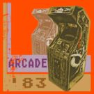 Arcade &#x27;83 (Distressed) by Elton McManus