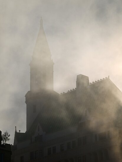 Gothic fog by Celeste Mookherjee