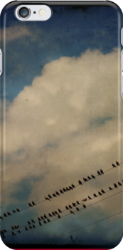 Birds On A Wire by Robert Baker