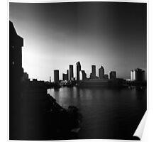 sundown on the city Poster